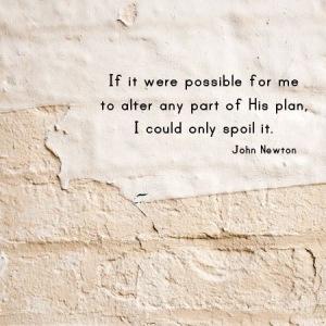 Alter God's Plan